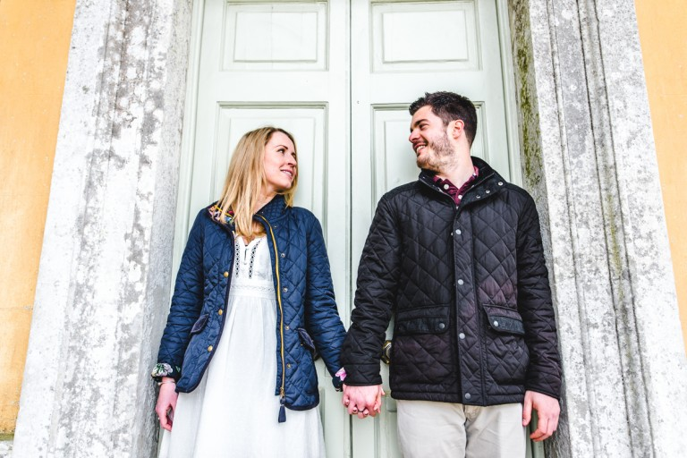 Stourhead engagement photography