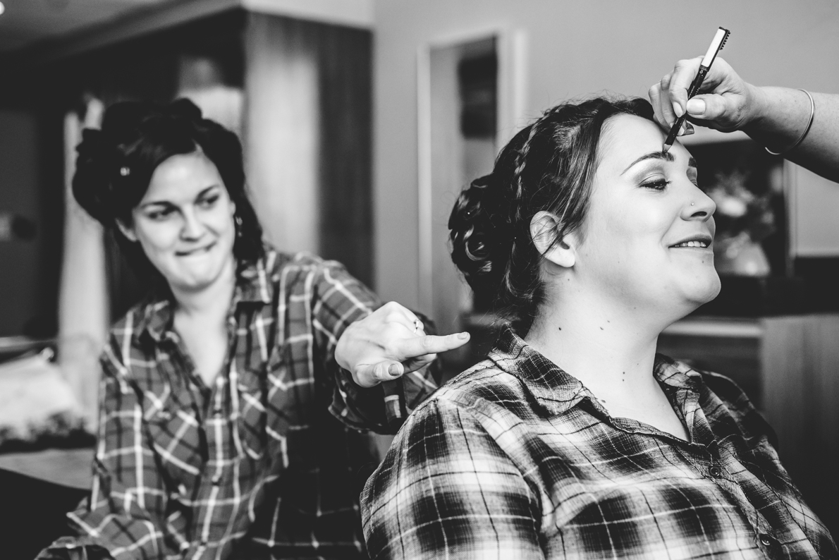 Wedding makeup Gloucestershire