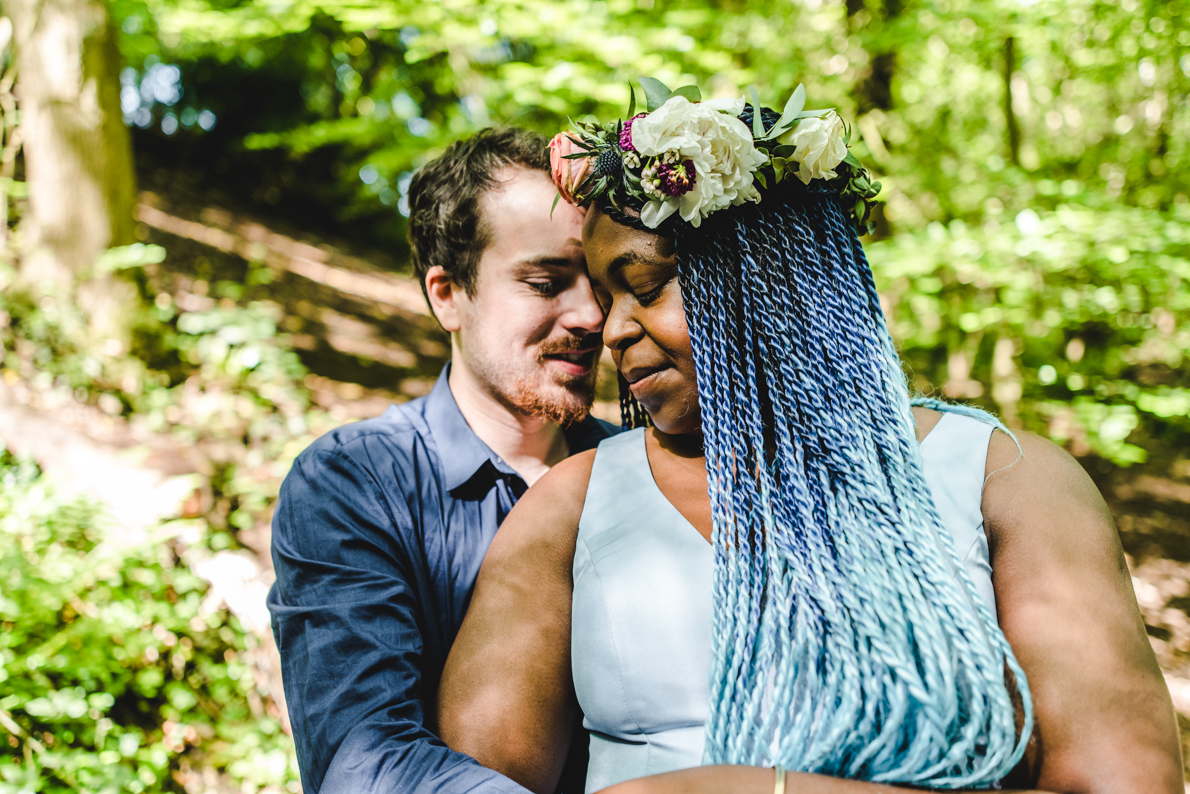 Colourful engagement photography