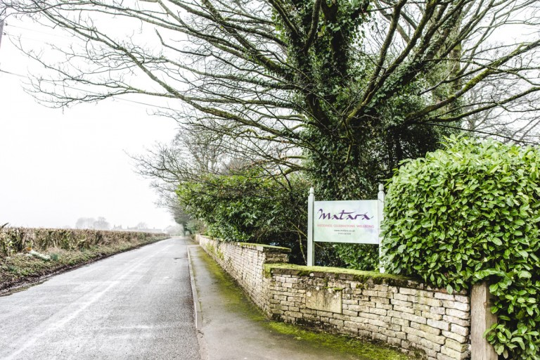 Photo of the Matara Centre wedding venue front entrance in Gloucetsershire