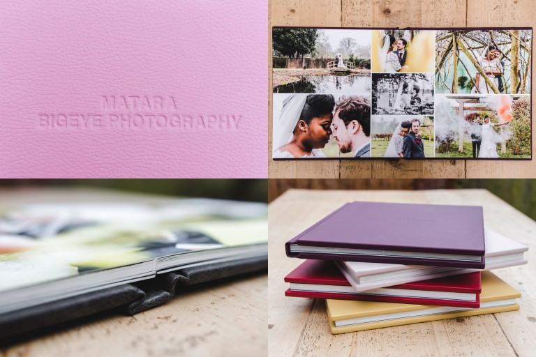 Wedding in Photography in Gloucestershire fine art sample wedding album