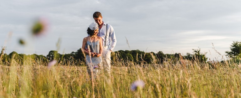 Natural wedding photography at lodge park